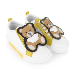 Moschino Toddler Teddy Leather Sneakers